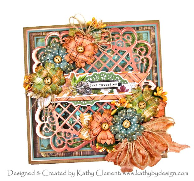 Spellbinders Amazing Paper Grace September 2020 Club Kit Simple Stories Autumn Splendor by Kathy Clement Kathy by Design Photo 01