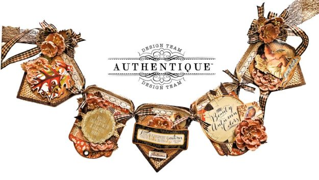 Authentique Harvest Autumn Banner by Kathy Clement Kathy by Design Photo 01
