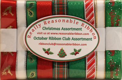 Really Reasonable Ribbon October 2020 Ribbon Club Assortment