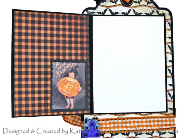 Authentique Masquerade Halloween Treat Tag #2 Kathy Clement Kathy by Design Photo 01