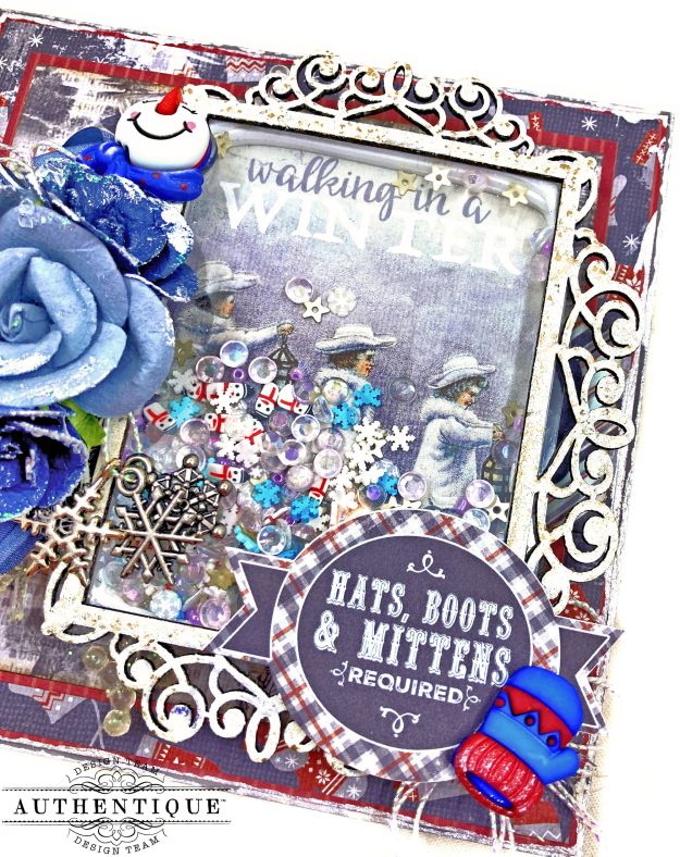 Authentique Wintery Walk Card by Kathy Clement Kathy by Design Photo 01