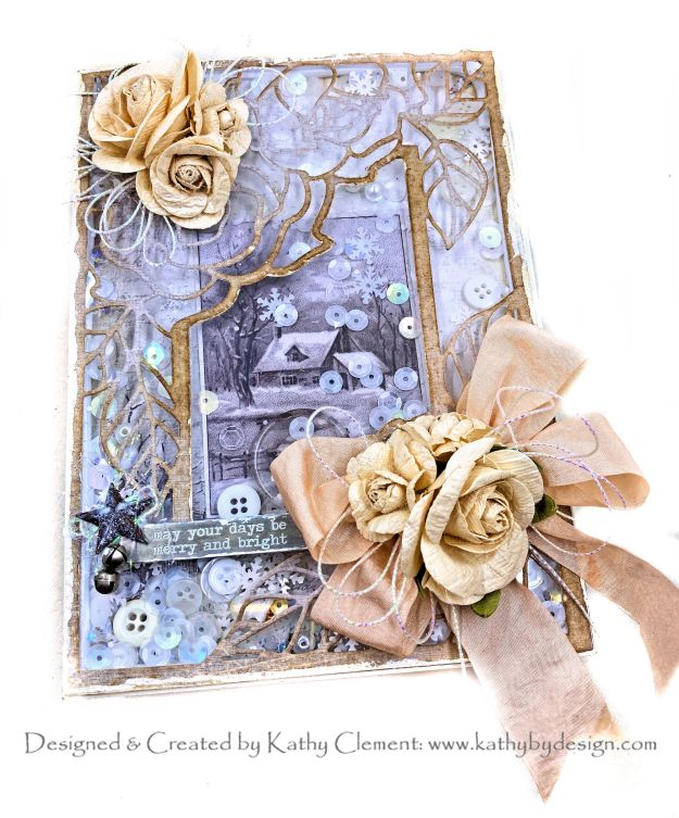 Amazing Paper Grace December 2020 Blog Hop Rose Promise Die Shaker Card by Kathy Clement Kathy by Design Photo 01
