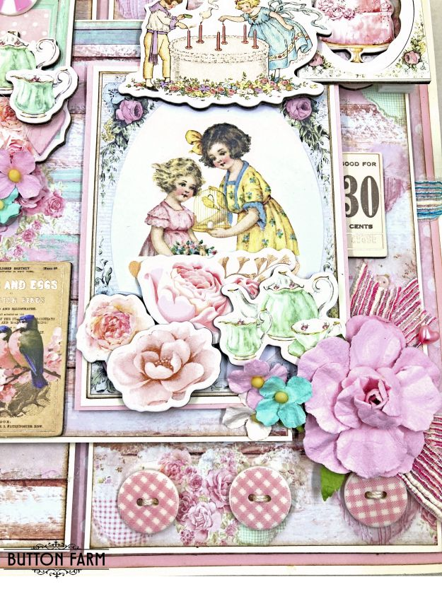 Prima With Love Folio Kit Reveal for The Button Farm Club by Kathy Clement Kathy by Design Photo 01