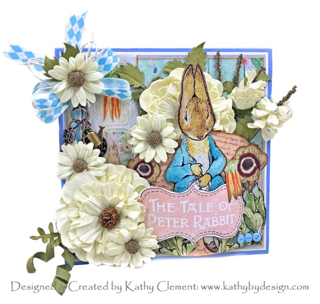 Peter Rabbit's Flower Garden by Kathy Clement Memory Place Peter's World Collection Photo 01