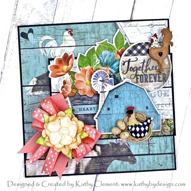 Simple Stories Vintage Farmhouse Garden Fun Fold Card by Kathy Clement PHoto 01
