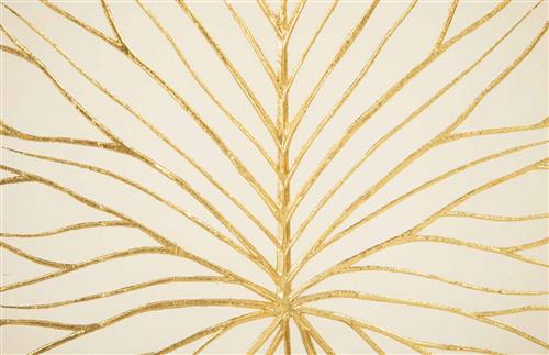 phillips collection rivulet modern white chamcha wood gold accent wall tile sculpture