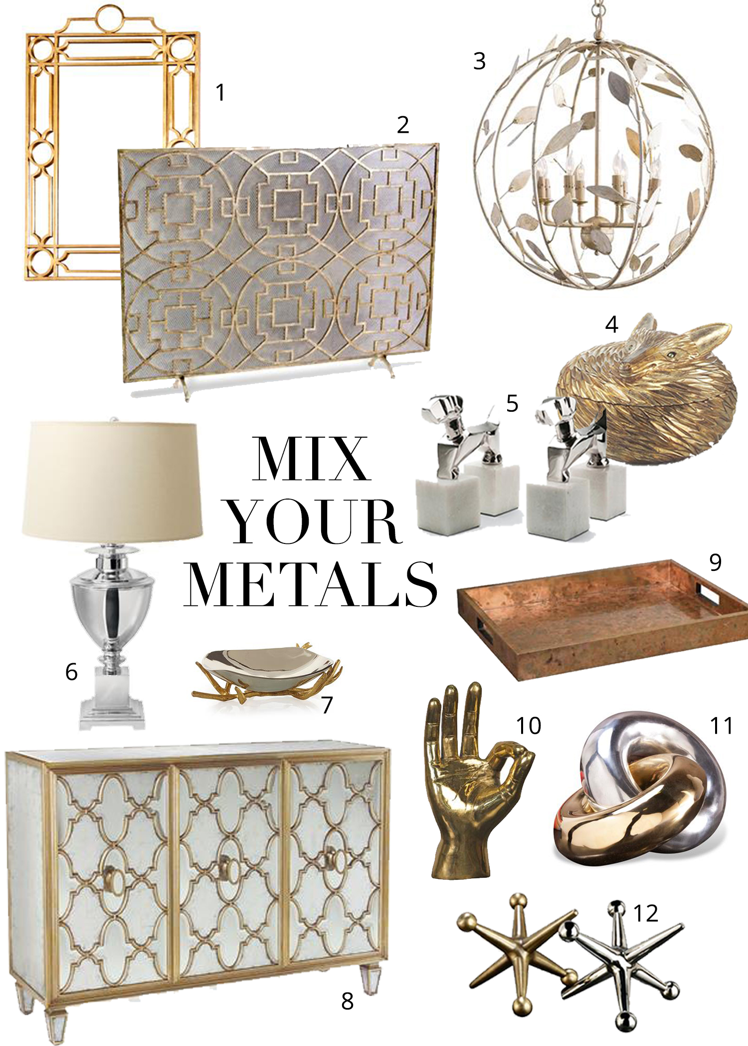 Mixing Metals The Do S And Don Ts Kathy Kuo Blog Kathy
