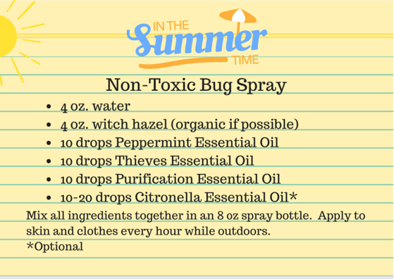 Non-Toxic Bug Spray