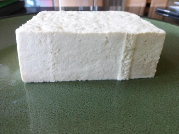 unpressed tofu