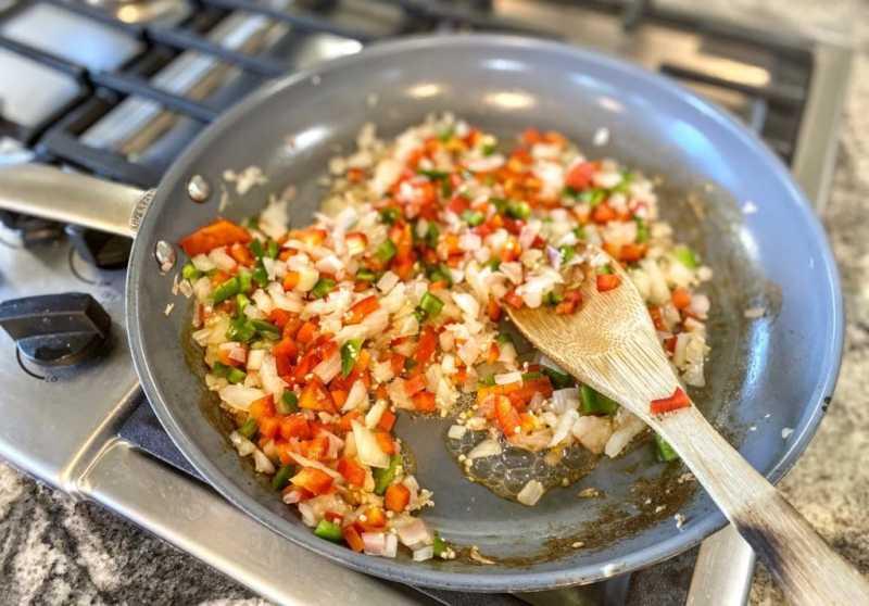 onions shallots garlic and jalapeno