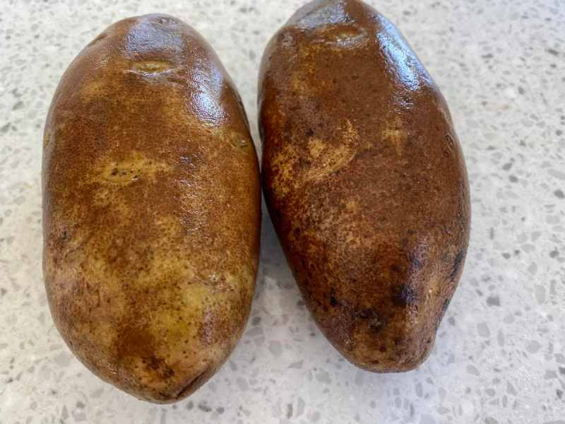 2 potatoes