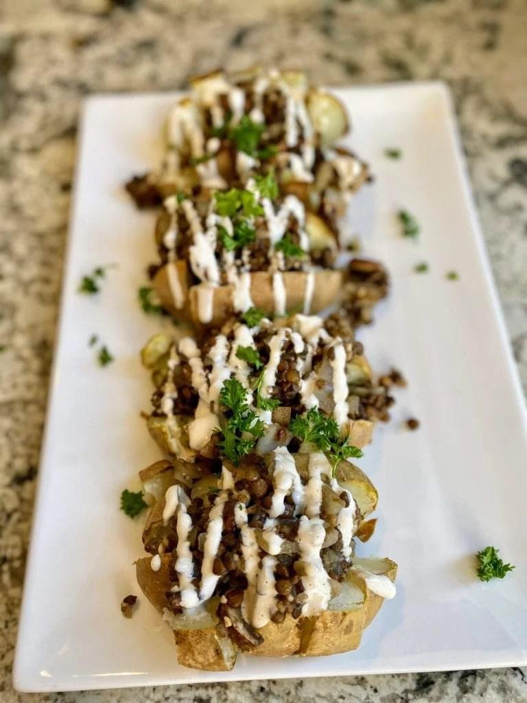 Vegan Baked Potato Recipe