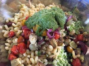 IMG_8797-300x225 Skinny Roasted Vegetable Pesto Pasta Salad