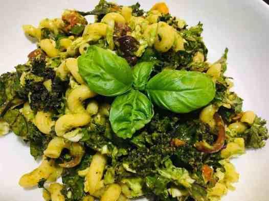 IMG_8799-300x225 Skinny Roasted Vegetable Pesto Pasta Salad