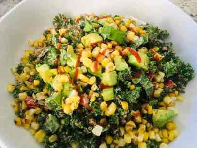 IMG_8882-300x225 Kale and Quinoa Southwestern Salad with Cumin Citrus Dressing