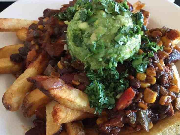Skinny AF Loaded Chili Fries