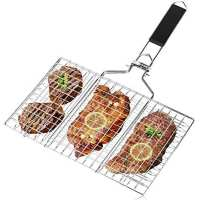 WEEFUN BBQ Barbecue Grilling Basket