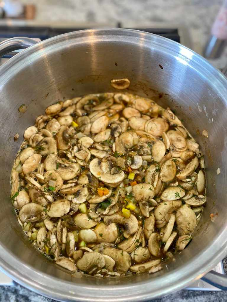Musshroom-soup-cooking-768x1024 Hungarian Mushroom Soup