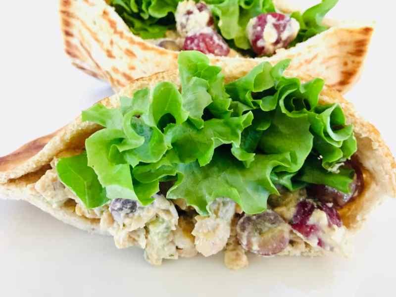 vegan-chicken-salad-pita-1024x768 Vegan Chicken Salad
