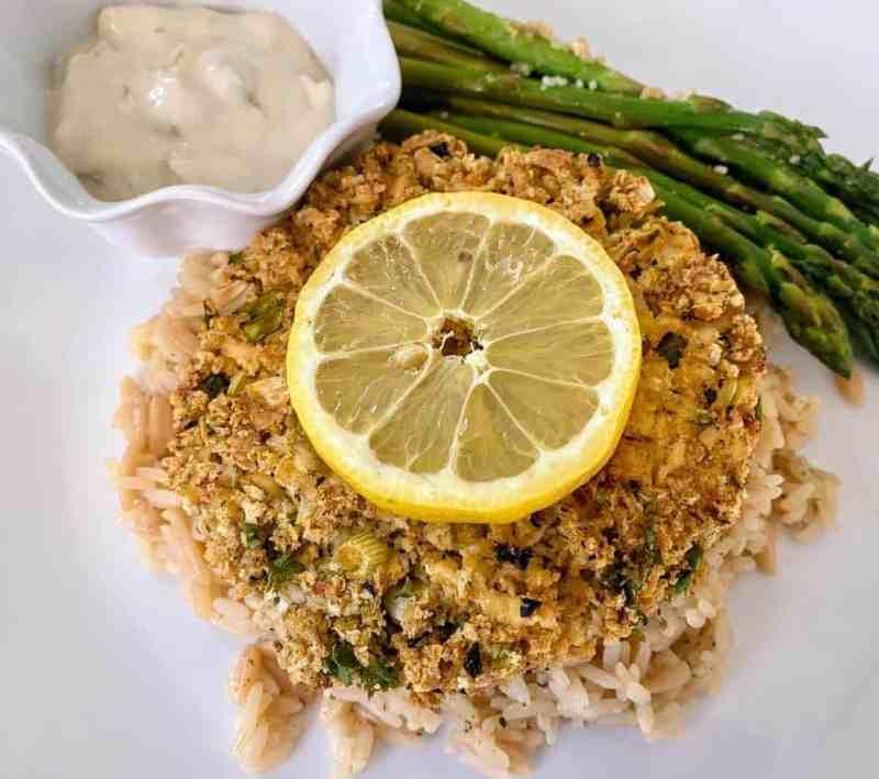 vegan crab cake recipe