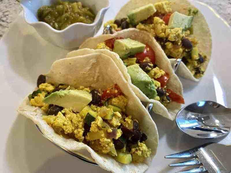 Vegan Breakfast Tacos Recipe