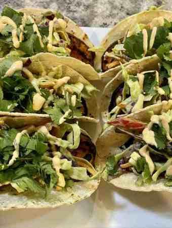 Sweet Potato Tacos Recipe