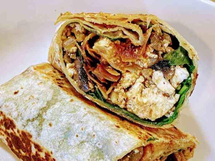 breakfast-burrito-1 Vegan Breakfast Burrito
