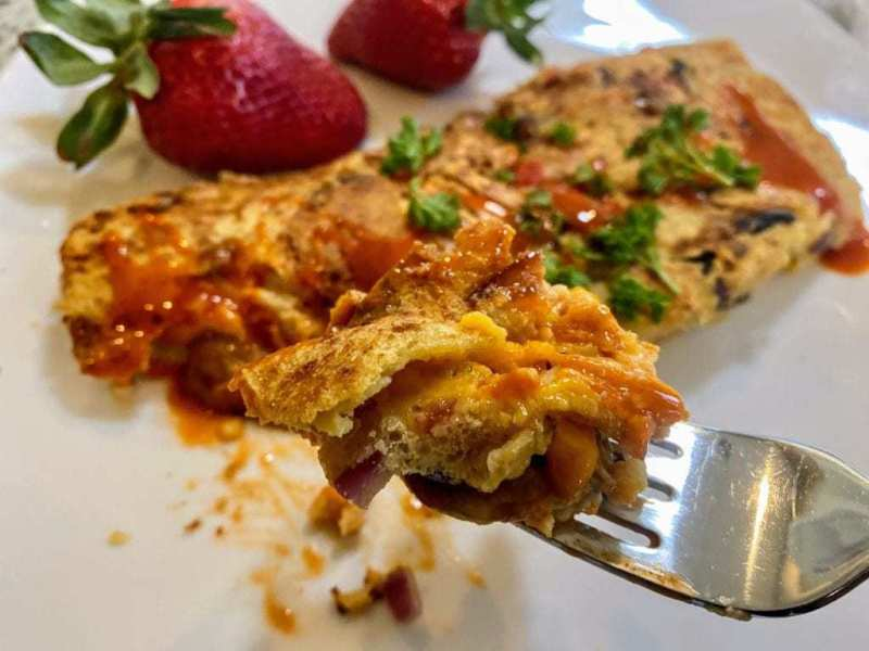 Chickpea Omelette Recipe
