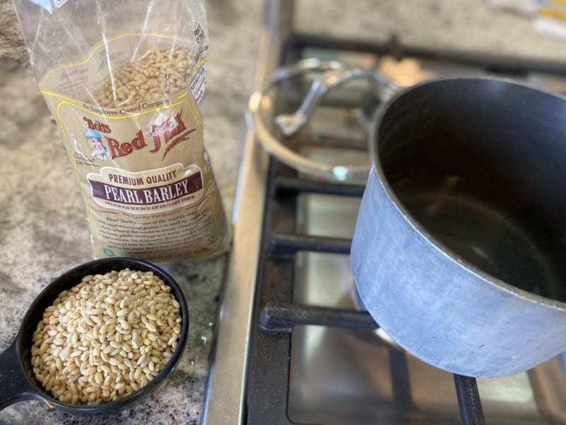 cooking barley