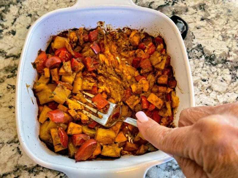 roasted vegetables vegetalble barly soup