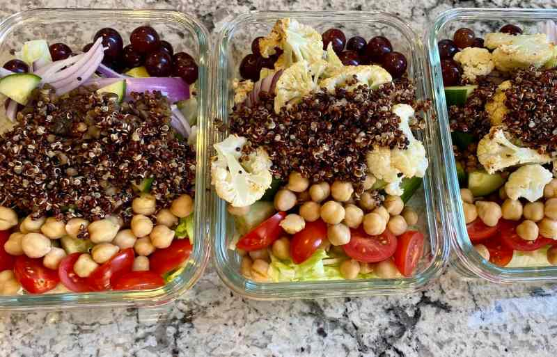 lentil salad recipe meal prep