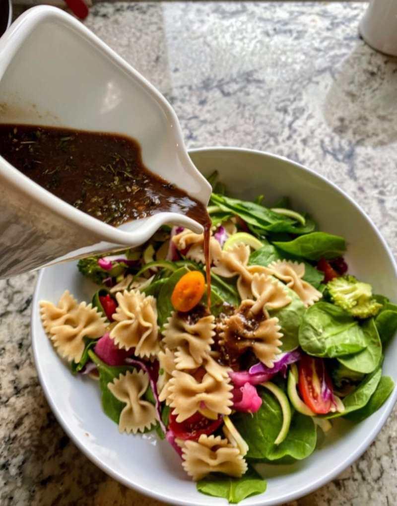 Spinach pasta salad dressing