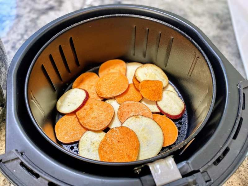 Sweet potatoes in air frier