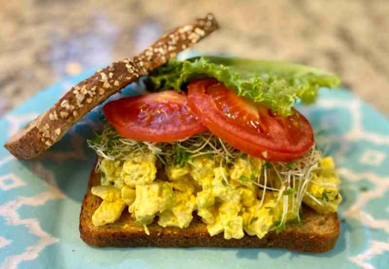 Vegan Egg Salad Recipe