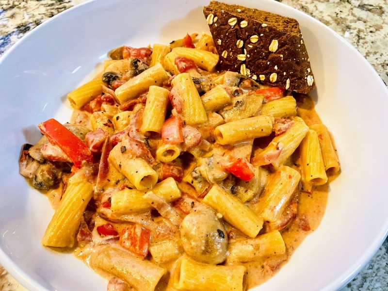 vegan cajun pasta recipe