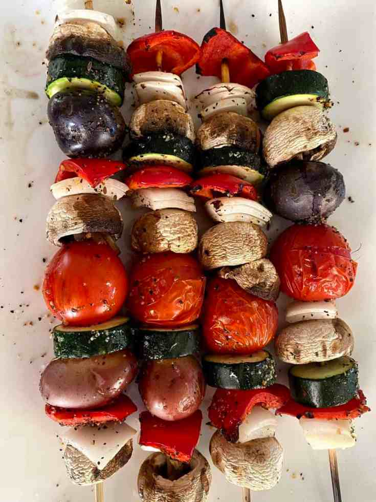 Grilled Vegetable Kabobs Recipe