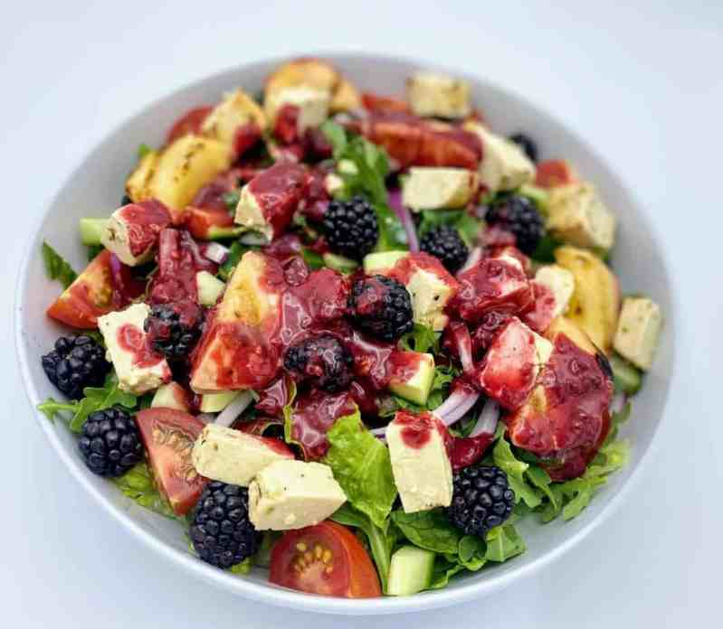 Blackberry salad