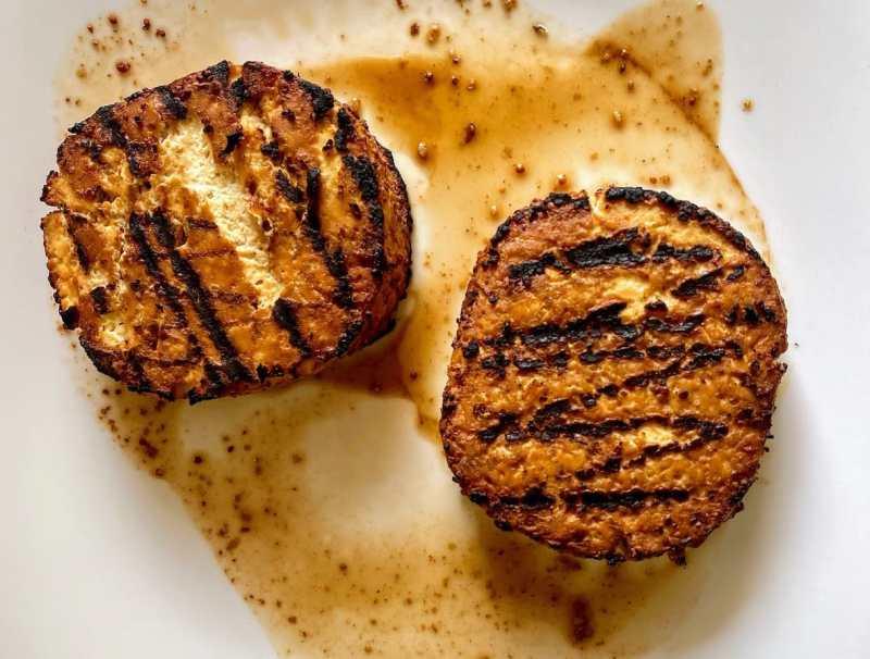 Cooked Tofu burgers