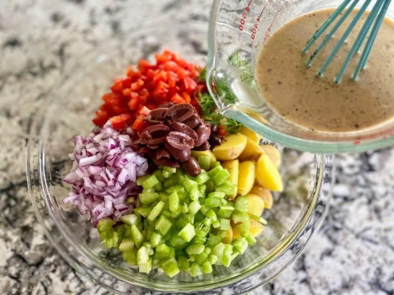 Greek Potato Salad Dressing