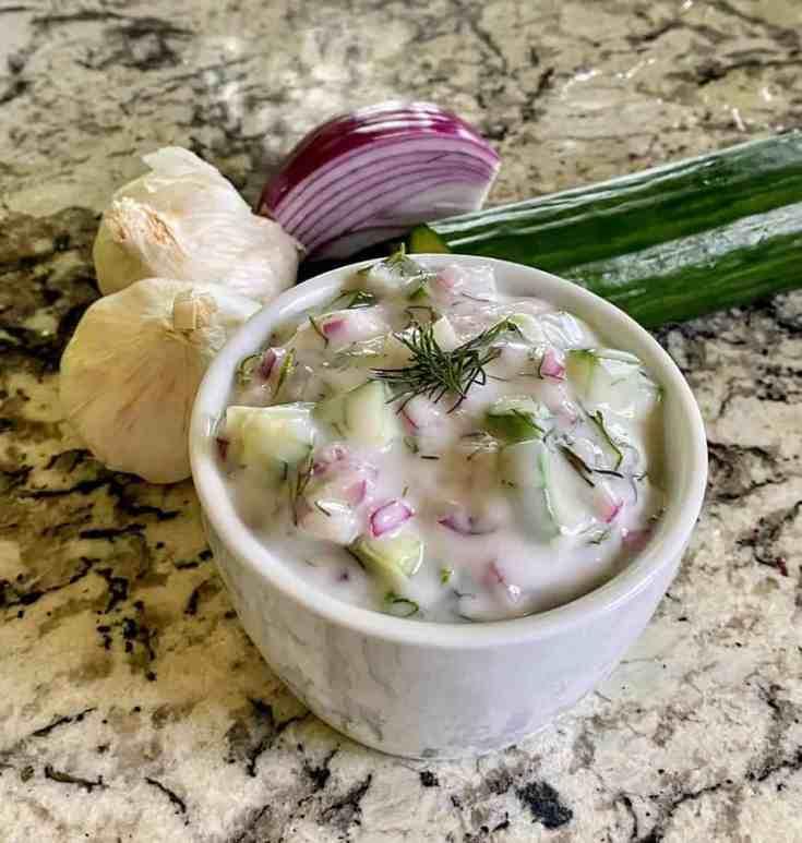 Vegan Greek Yogurt Sauce