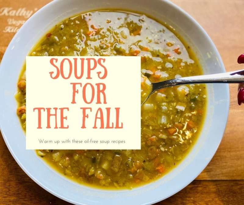 Soup recipes for the Fall