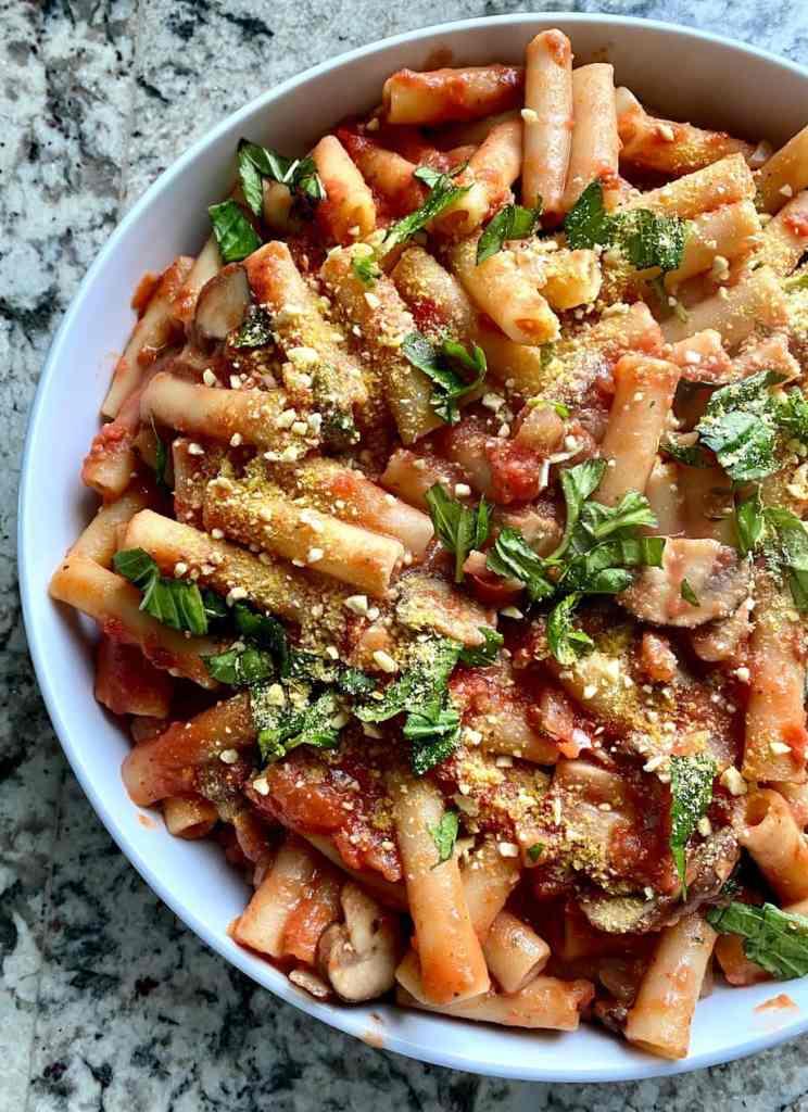 creamy toamto pasta recipe
