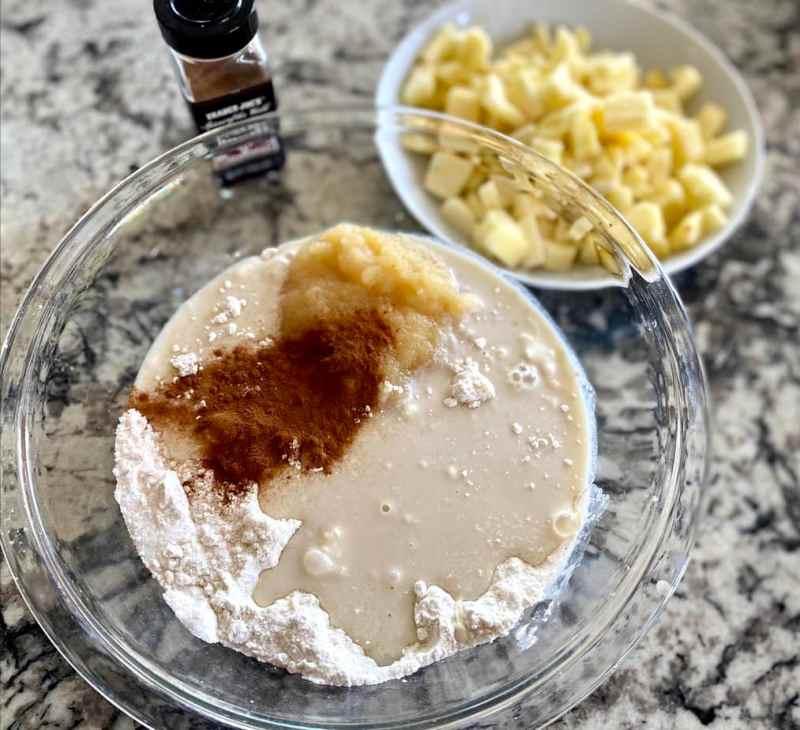apple cinnamon bread ingredients