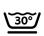 Lavable a máquina 30º Centrifugado corto