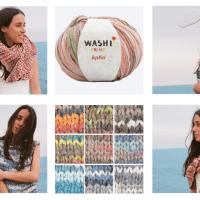 6 Strick- und Häkelankeitungen, um die neuen, trendigen Batik-Garne Katia Washi und Washi Print im richtigen Licht zu zeigen