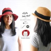 Einen sommerlichen Hut häkeln? Ganz einfach mit der Anleitung von Chabepatterns!