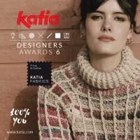 Los geht's mit unserem Kreativ-Wettbewerb Katia Designers Awards 6 mit 3 Techniken pro Kategorie: Stricken, Häkeln und Nähen