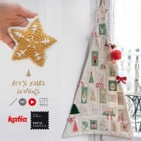 Nähe einen Adventskalender und häkle weihnachtliche Deko mit Ahuyama Crochet und 7 Videos