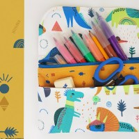 Have a DIY back to school with Katia Fabrics. Step by step video instructions showing how to make a pencil case