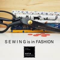 Sewing is in fashion, learn how with Katia Fabrics
